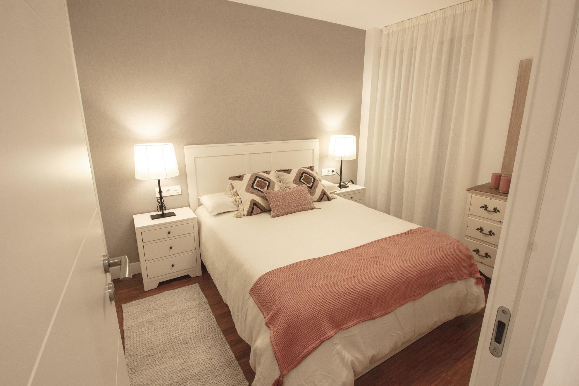 Reformas y diseño Hamaika habitación